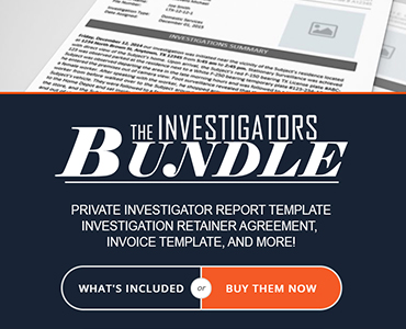 Private Investigator Documents
